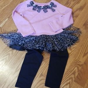 NWOT'S Toddler girls outfit